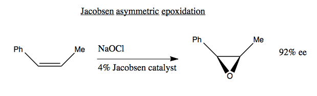 Jacobsen's catalyst
