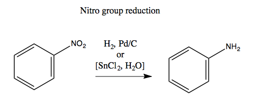 Reduction Nitro Nitro Group Reduction And