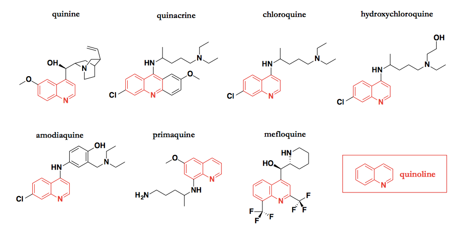 structure activity relationship of quinine